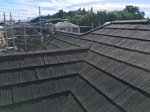 施工後屋根重ね葺き工事【137】大和市I様邸