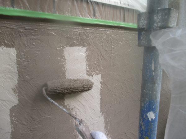 リフォーム施工中屋根重ね葺き、外壁塗装、雨樋交換工事、遮熱シート工事【138】横浜市港北区K様