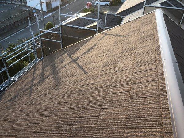 施工後屋根重ね葺き、外壁塗装、雨樋交換工事【91】横浜市都筑区A様