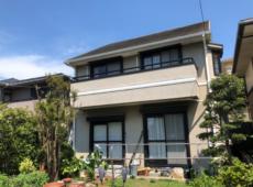 屋根重ね葺き、外壁塗装、雨樋交換工事【91】横浜市都筑区A様
