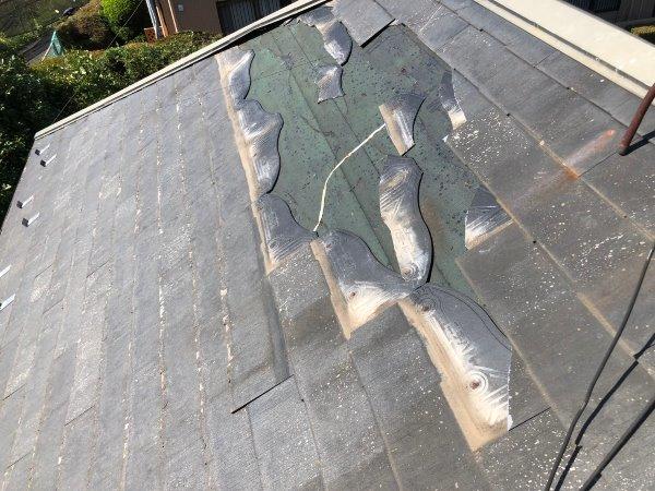 施工前屋根重ね葺き、外壁塗装及びコーキング工事【96】横浜市青葉区Y様