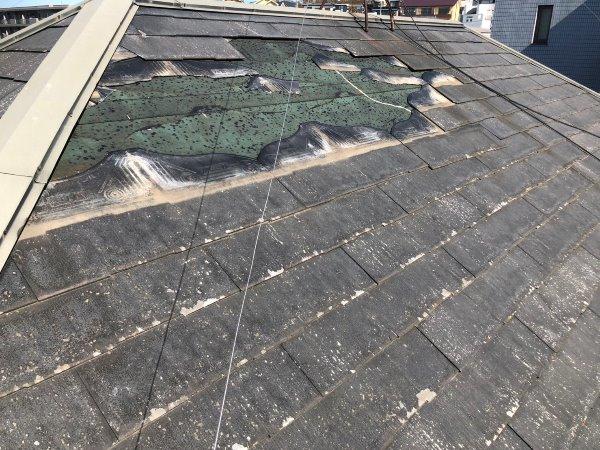 リフォーム施工中屋根重ね葺き、外壁塗装及びコーキング工事【96】横浜市青葉区Y様