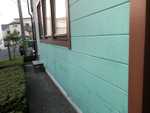 リフォーム施工中屋根塗装工事、外壁塗装工事【143】横浜市都筑区S様