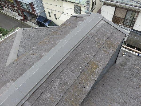 施工前屋根重ね葺き工事・外壁塗装工事【98】横浜市神奈川区T様