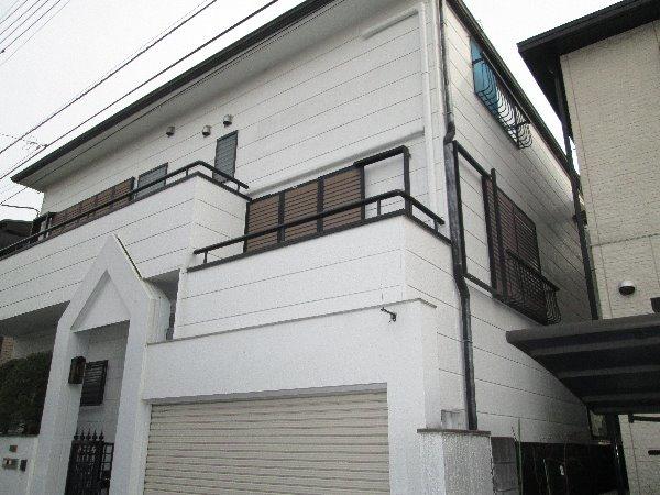 施工後外壁塗装・雨戸塗装【101】横浜市港北区K様