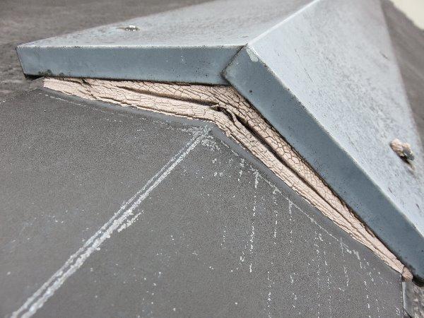 リフォーム施工中屋根重ね葺き工事・外壁塗装工事【98】横浜市神奈川区T様