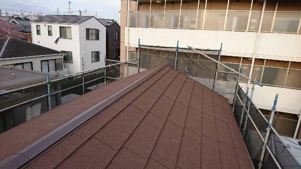 屋根葺き替え工事、雨樋工事【148】東京都品川区M様