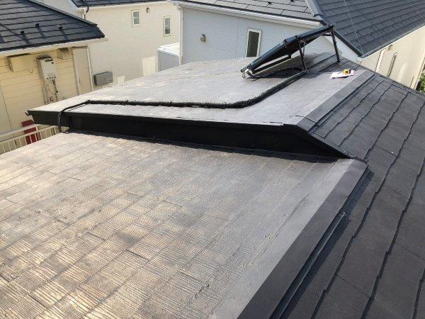 施工前屋根重ね葺き、外壁塗装、雨樋交換工事【105】神奈川県相模原市W様