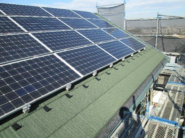 屋根葺き替え工事・太陽光パネル脱着工事【152】横浜市緑区S様