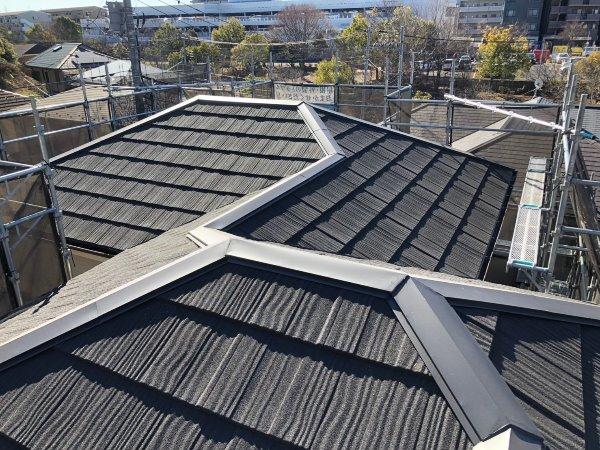 横浜市都筑区 屋根重ね葺き、外壁塗装、雨樋交換【149】横浜市都筑区