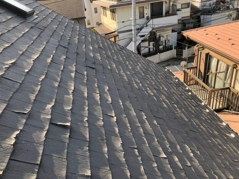 施工前屋根重ね葺き、外装塗装【154】横浜市緑区K様