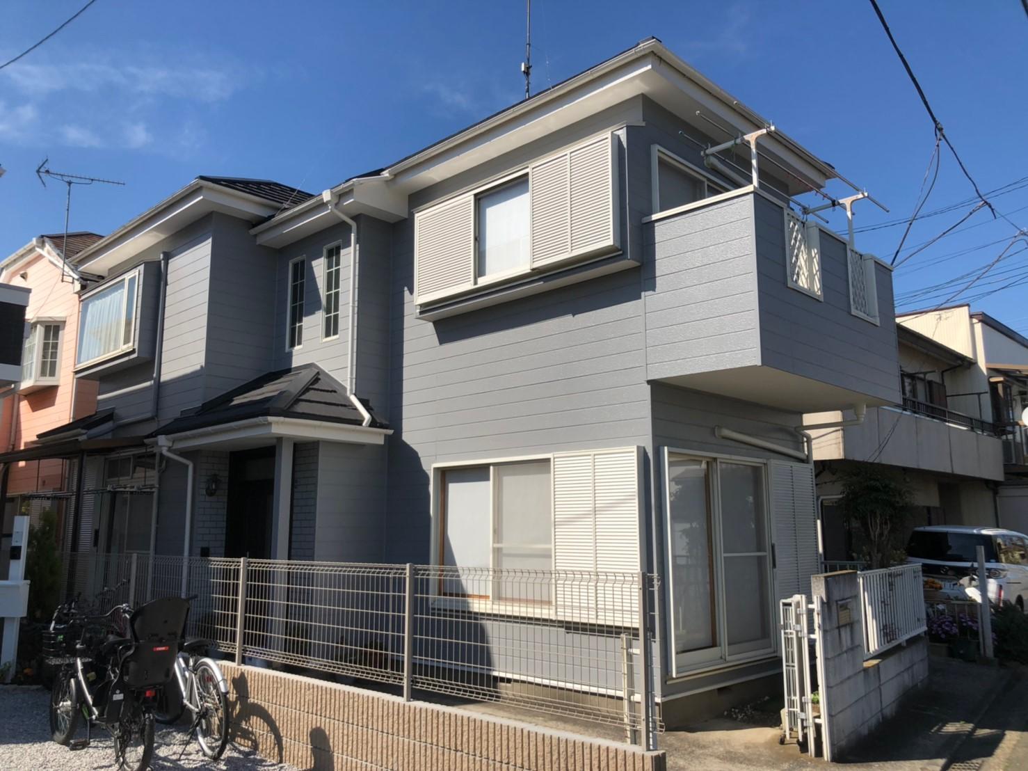 外壁塗装【155】横浜市瀬谷区T様