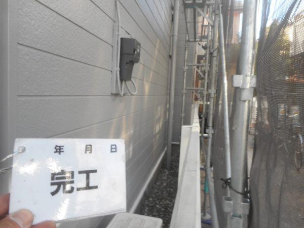 リフォーム施工中外壁塗装【155】横浜市瀬谷区T様