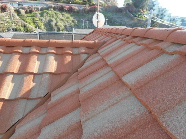 リフォーム施工中屋根重ね葺き、外装塗装【154】横浜市緑区K様