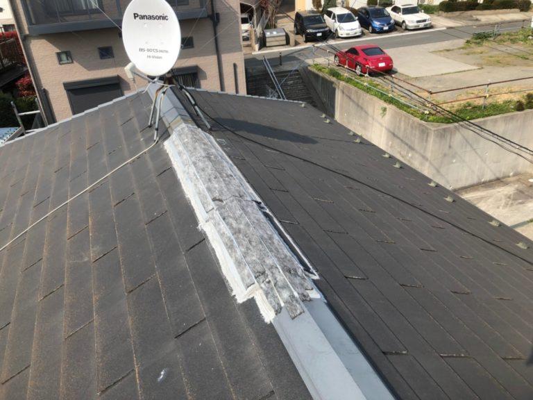 施工前屋根塗装、外壁塗装【115】横浜市神奈川区T様