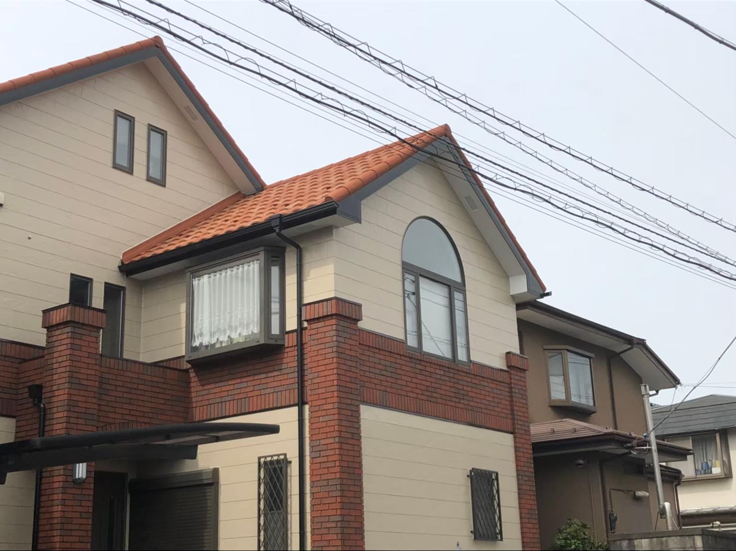屋根重ね葺き、外装塗装【154】横浜市緑区K様