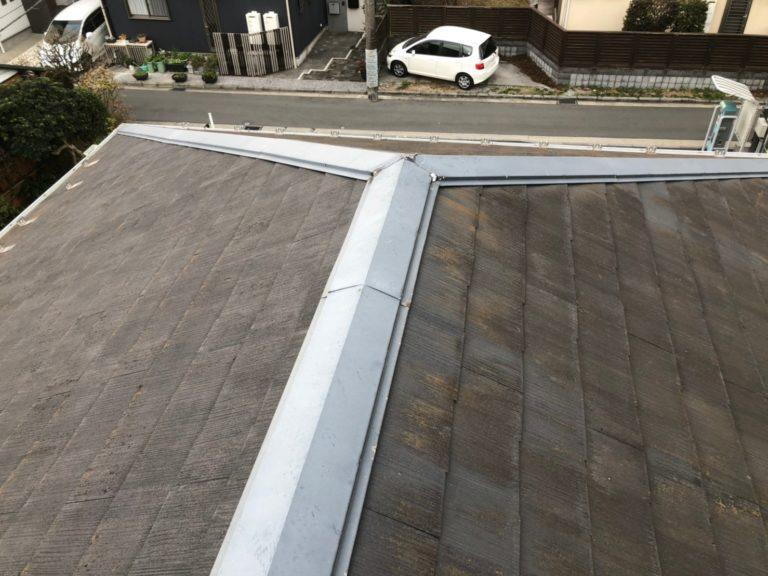 施工前屋根塗装、外壁塗装【108】横浜市保土ヶ谷区S様