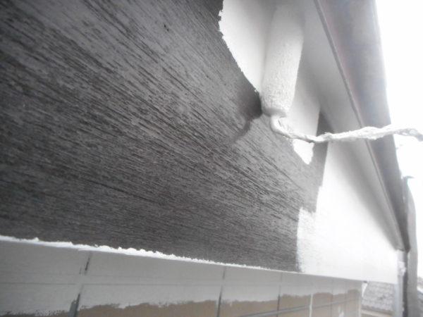 リフォーム施工中屋根重ね葺き、外壁塗装 【150】横浜市都筑区F様