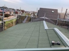 屋根重ね葺き、外壁塗装【129】相模原市Y様