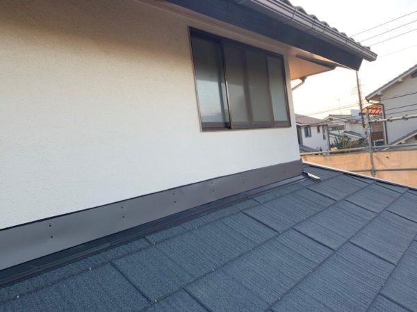 リフォーム施工中下屋根葺き替え工事【120】横浜市都筑区Y様
