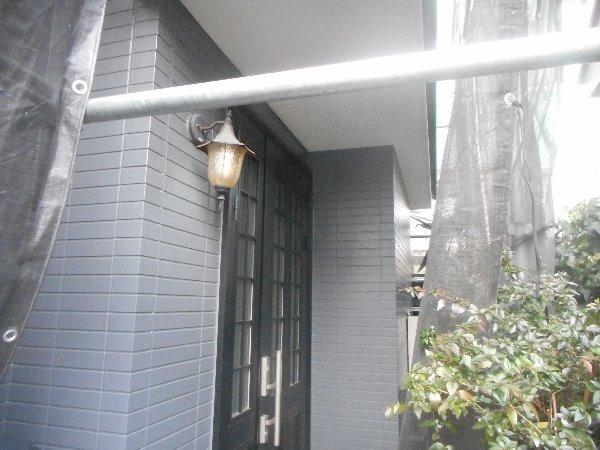 リフォーム施工中屋根重ね葺き、外壁塗装【127】横浜市青葉区N様