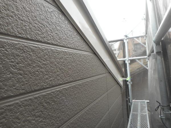リフォーム施工中屋根葺き替え、外壁塗装【117】川崎市高津区N様