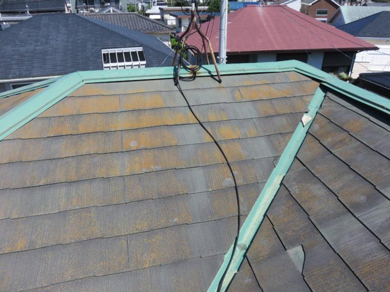 施工前屋根重ね葺き、外壁塗装【130】藤沢市T様