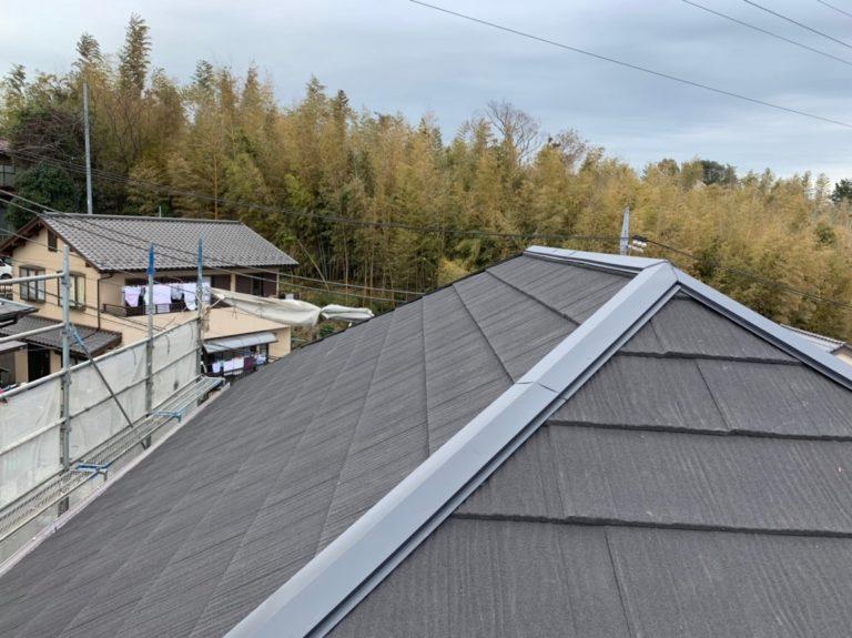 施工後屋根葺き替え、雨樋交換【133】横浜市都筑区Y様