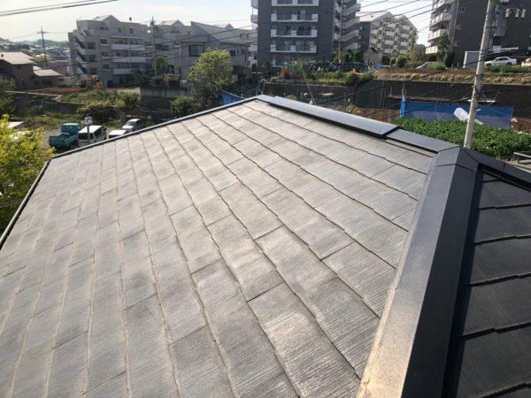 リフォーム施工中屋根重ね葺き【156】横浜市都筑区T様