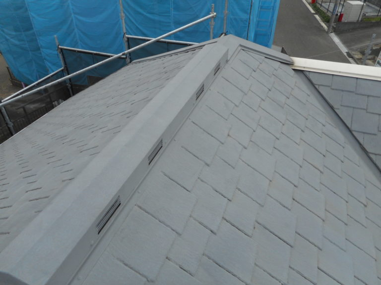 施工前屋根重ね葺き、外壁部分塗装【157】横浜市都筑区M様
