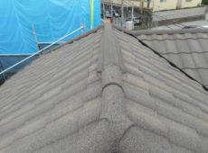 屋根重ね葺き、外壁部分塗装【157】横浜市都筑区M様