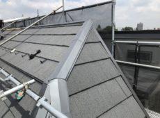 屋根重ね葺き工事、サイディング工事【158】東京都渋谷区N様