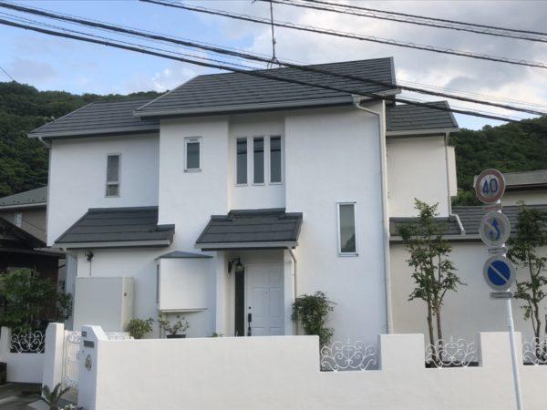 屋根重ね葺き、外壁塗装、雨樋交換、破風板金工事【159】平塚市M様