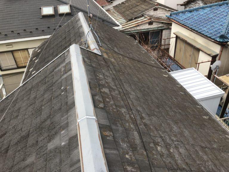 施工前屋根重ね葺き、外壁塗装、雨樋交換、内装工事【160】横浜市港北区S様