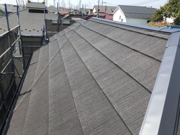 施工後屋根重ね葺き、外壁塗装、雨樋交換、内装工事【160】横浜市港北区S様