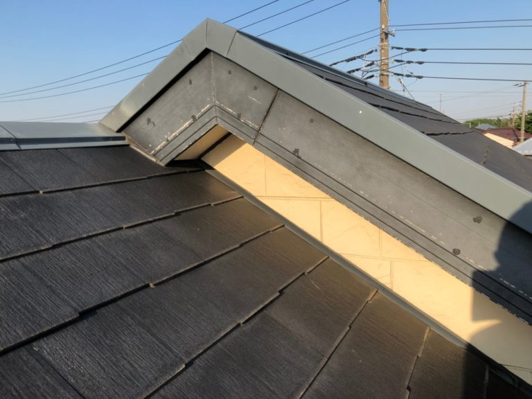 施工前屋根重ね葺き、外壁塗装、雨樋交換【168】横浜市港北区I様
