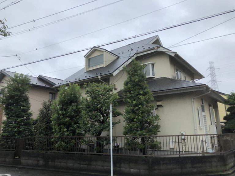 施工前屋根重ね葺き、外壁塗装、雨樋交換【167】横浜市青葉区I様