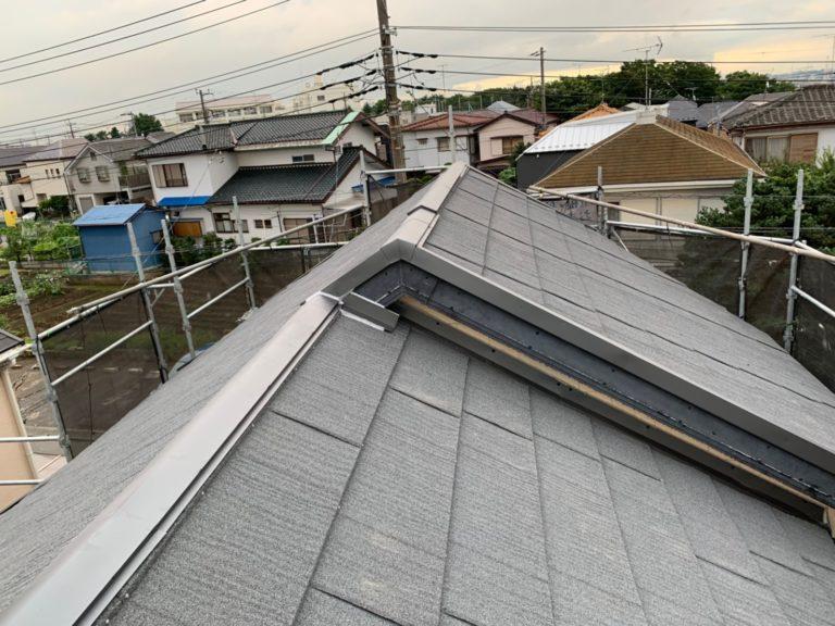 施工後屋根重ね葺き、外壁塗装、雨樋交換【168】横浜市港北区I様