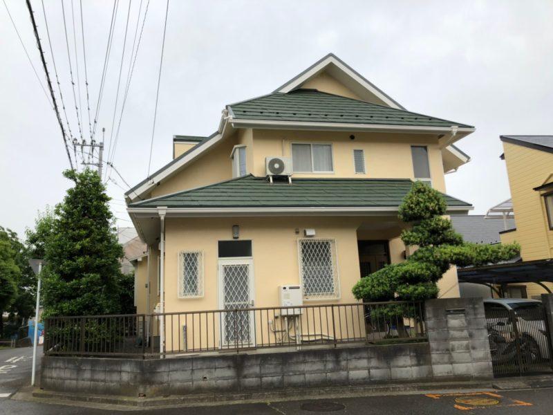 屋根重ね葺き、外壁塗装、雨樋交換【167】横浜市青葉区I様