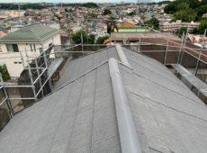 屋根重ね葺き、外壁塗装、雨樋交換【168】横浜市港北区I様