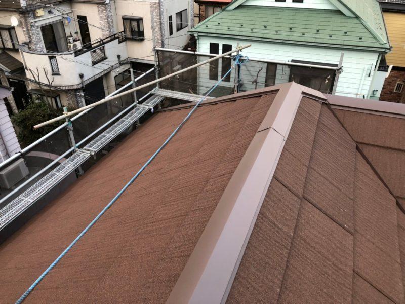屋根重ね葺き工事、外壁塗装工事 他【172】埼玉県和光市I様