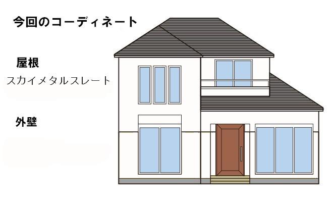 イラスト屋根重ね葺き工事【193】川崎市麻生区K様
