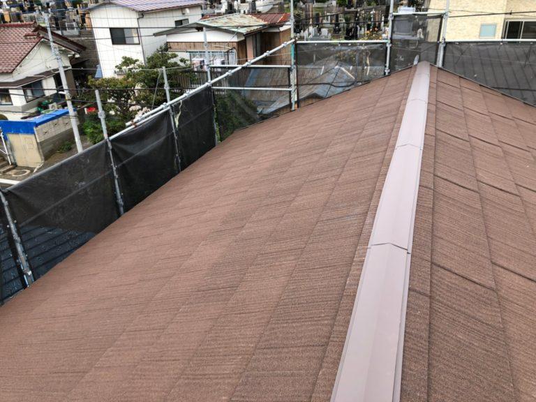 施工後屋根重ね葺き工事、外壁塗装工事【178】相模原市T様