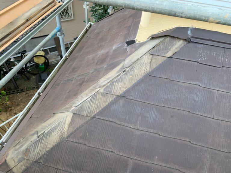 施工前屋根重ね葺き工事、外壁塗装工事【181】横浜市磯子区O様