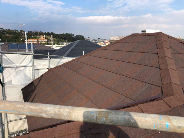施工後屋根重ね葺き工事、外壁塗装工事【179】横浜市神奈川区S様
