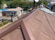 屋根重ね葺き工事、外壁塗装工事、波板交換工事【186】川崎市宮前区O様