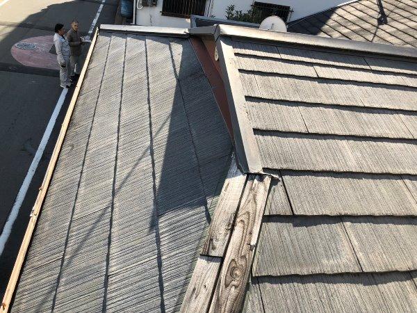 施工前屋根重ね葺き工事【196】大阪市A様
