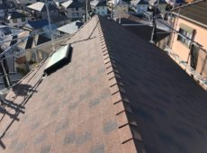 屋根重ね葺き工事【192】横浜市保土ヶ谷区T様