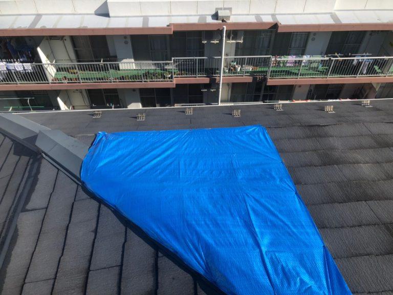 施工前屋根重ね葺き工事、外壁塗装工事【195】川崎市Y様