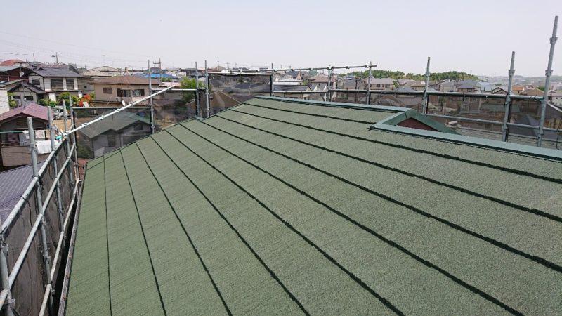 屋根重ね葺き,外壁塗装【210】横浜市緑区